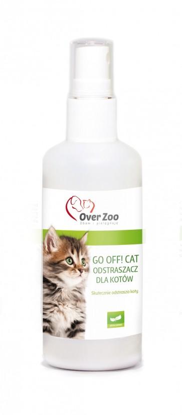 Over-Zoo, Go Off! Cat, skutecznie odstrasza koty, 100ml