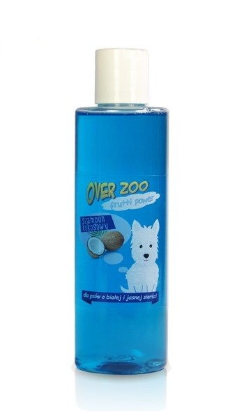 Over-Zoo, Szampon Frutti Power, Kokos, 200ml