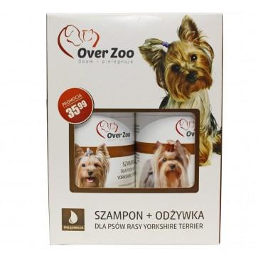 Over-Zoo, Zestaw Szampon + Odżywka dla psów rasy Yorkshire Terrier