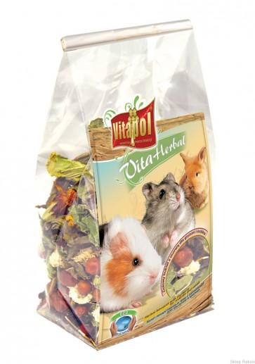 Vitapol, Vita-Herbal, Ziołowy bukiet z morwą dla gryzoni i królików