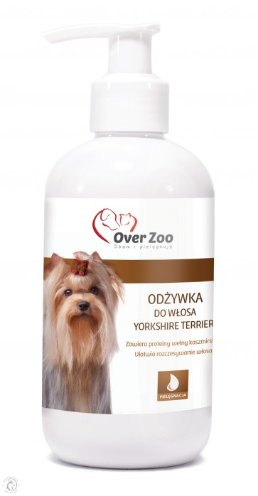 Over-Zoo, Odżywka do włosa Yorkshire Terrier, 250ml