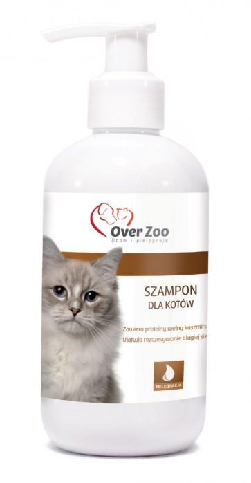 Over-Zoo, Szampon dla kotów, 250ml