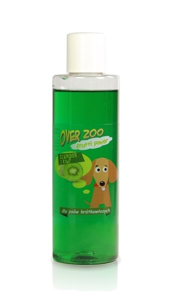 Over-Zoo, Szampon Frutti Power, Kiwi, 250ml