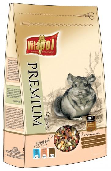 Vitapol, Premium, Pokarm dla szynszyli, worek 750g