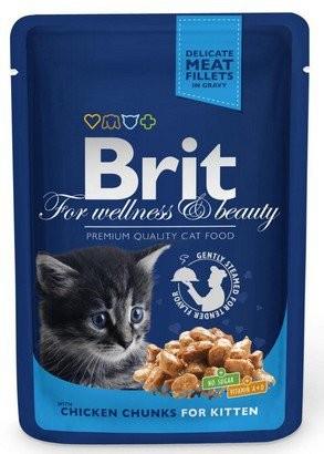 Brit, Cat Premium Kitten, z kurczakiem, 100g
