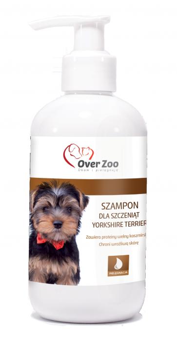 Over-Zoo, Szampon dla szczeniąt rasy Yorkshire Terrier, 250ml
