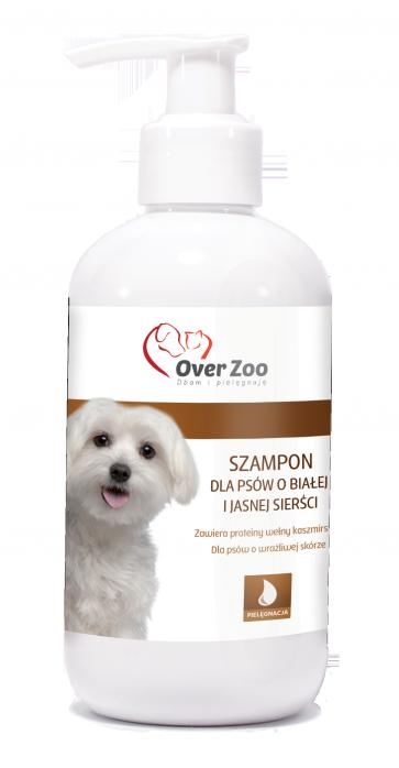 Over-Zoo, Szampon dla białej i jasnej sierści, 250ml