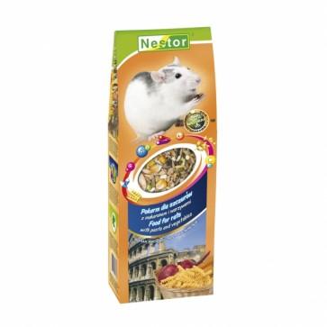 Nestor, Smaki Świata, Pokarm dla szczurów z makaronem i warzywami, 700ml