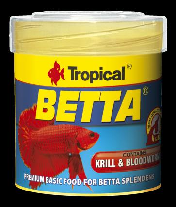 Tropical, Betta, pokarm w formie płatków dla bojowników