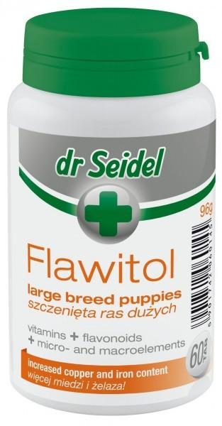 dr Seidel, Flawitol, dla szczeniąt ras dużych