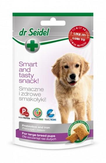 dr Seidel, Smakołyki dla szczeniąt ras dużych, 90g