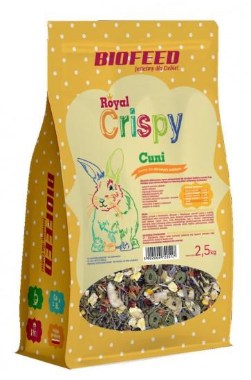 Biofeed, Royal Crispy, Cuni