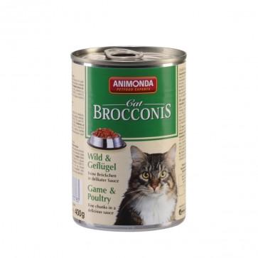 Animonda, Brocconis Cat, z dziczyzną i drobiem, 400g