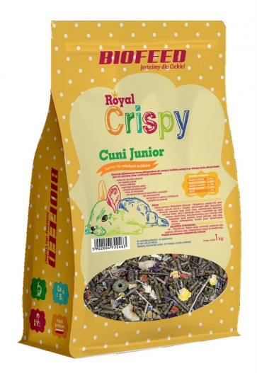Biofeed, Royal Crispy, Cuni Junior
