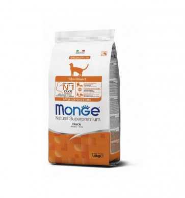 Monge Monoprotein, Sterilised, Kaczka