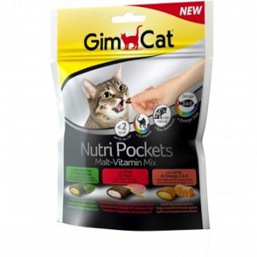 GimCat, Nutri Pockets, Malt-Vitamin Mix