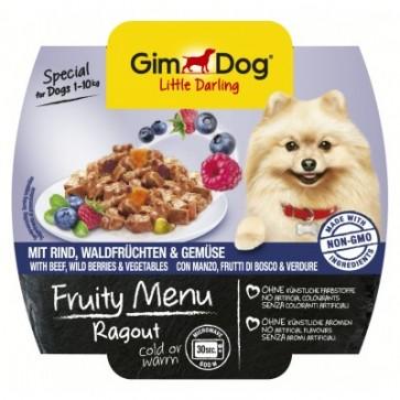 Gimdog, Fruity Menu Ragout, Beef & Wild Berries, 100g