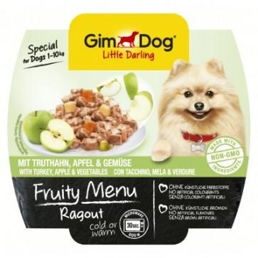 Gimdog, Fruity Menu Ragout, Turkey & Apple, 100g