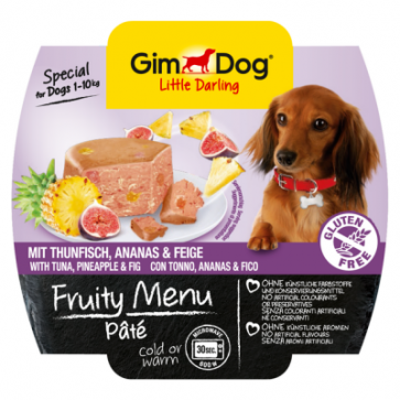 Gimdog, Fruity Menu Pate, Tuna & Pineapple, 100g