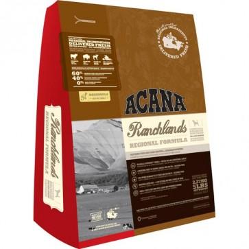Acana, Ranchlands Dog, bezzbożowa karma dla psów dorosłych, różne opakowania