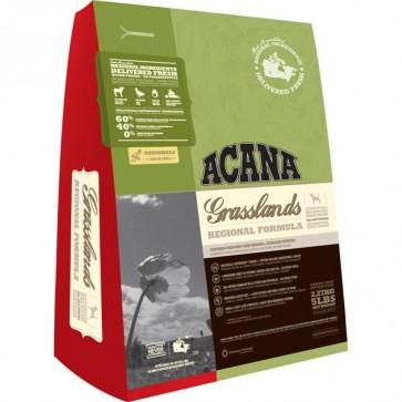 Acana, Grasslands Dog, bezzbożowa karma dla psów, różne opakowania