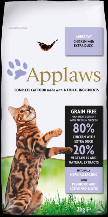 Applaws, Adult, z kurczakiem i kaczka