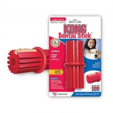KONG, Dental Stick, zabawka gumowa dla psów