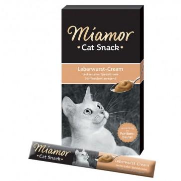 Miamor, Cat Snack z wątróbką, pasta smakowa dla kotów