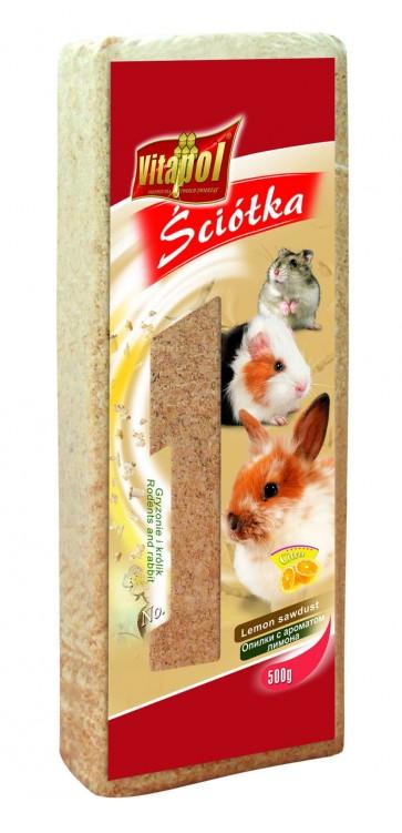 Vitapol, Trociny dla gryzoni i królików, cytrynowe