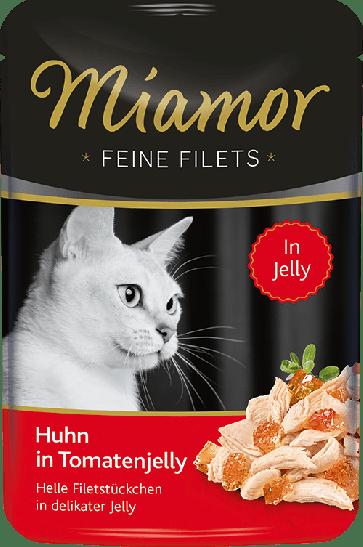 Miamor, Feine Fillets, Kurczak w galaretce pomidorowej, 100g