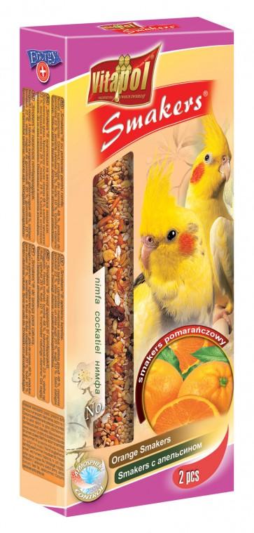 Vitapol, Smakers, Kolba dla nimfy, pomarańczowa, 2 sztuki