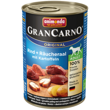 Animonda, GranCarno Adult, z węgorzem i ziemniakami, różne opakowania