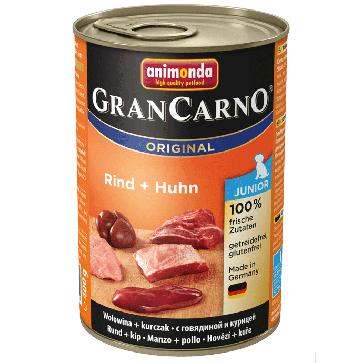 Animonda, GranCarno Junior, z wołowiną i kurczakiem, różne opakowania