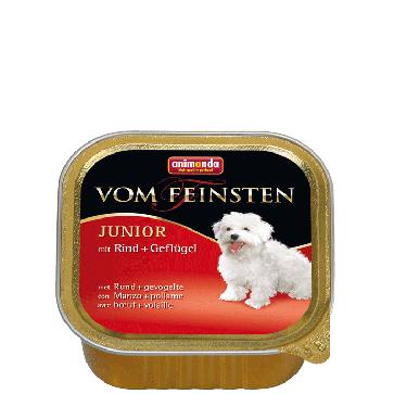Animonda, Vom Feinsten Junior, z wołowiną i drobiem, 150g