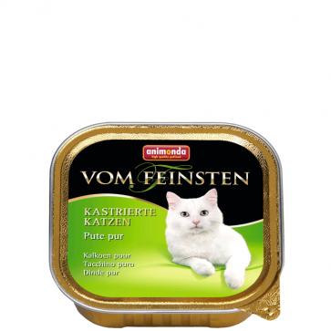 Animonda, Vom Feinsten, dla kastratów, z indykiem, 100g