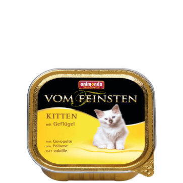 Animonda, Vom Feinsten Kitten, z drobiem, 100g