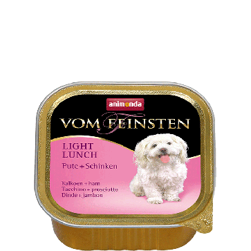 Animonda, Vom Feinsten Light Lunch, z indykiem i szynką, 150g