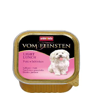 Animonda, Vom Feinsten Light Lunch, z indykiem i szynką, 150g