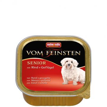 Animonda, Vom Feinsten Senior, z wołowiną i drobiem, 150g