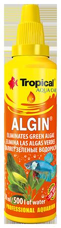 Tropical, Algin, usuwa glony zielone