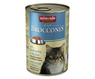 Animonda, Brocconis Cat, z rybą i drobiem, 400g