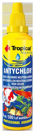 Tropical, Antychlor, uzdatnia wodę, neutralizuje chlor