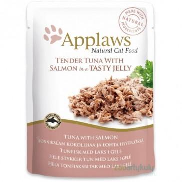 Applaws, Tuńczyk i łosoś, pokarm dla dorosłego kota, saszetka 70g