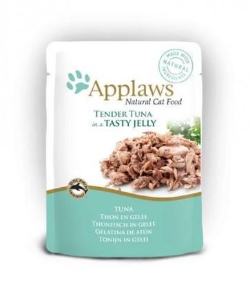 Applaws, Tuńczyk, pokarm dla dorosłego kota, saszetka 70g