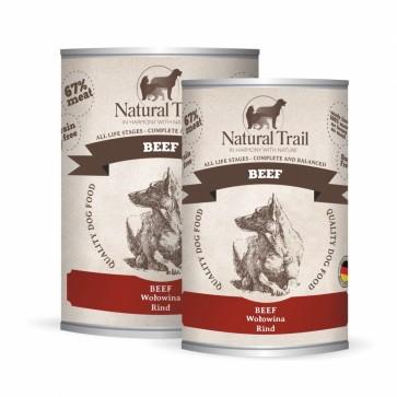 Natural Trail, Beef, z wołowiną