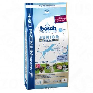 Bosch, Junior Lamb & Rice, dla szczeniąt, z jagnięciną i ryżem