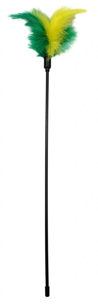 PetNova, Wędka dla kota z piórkami, 40cm