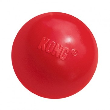 KONG, Ball, gumowa zabawka dla psów