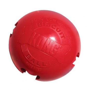 KONG, Biscuit Ball, piłka na przysmaki, Small