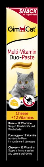 GimCat, Multi-Vitamin Duo-Paste z serem